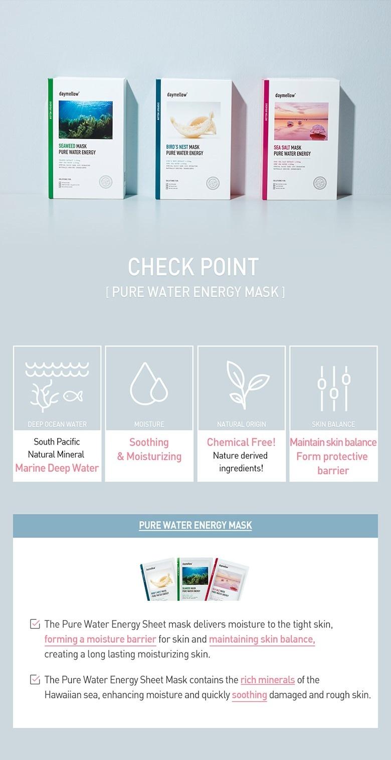 Pure Water Energy Mask (Sea Salt)-4