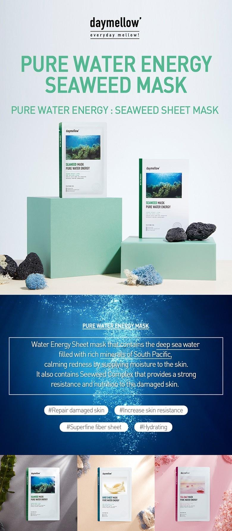 Pure Water Energy Mask (Seaweed)-2