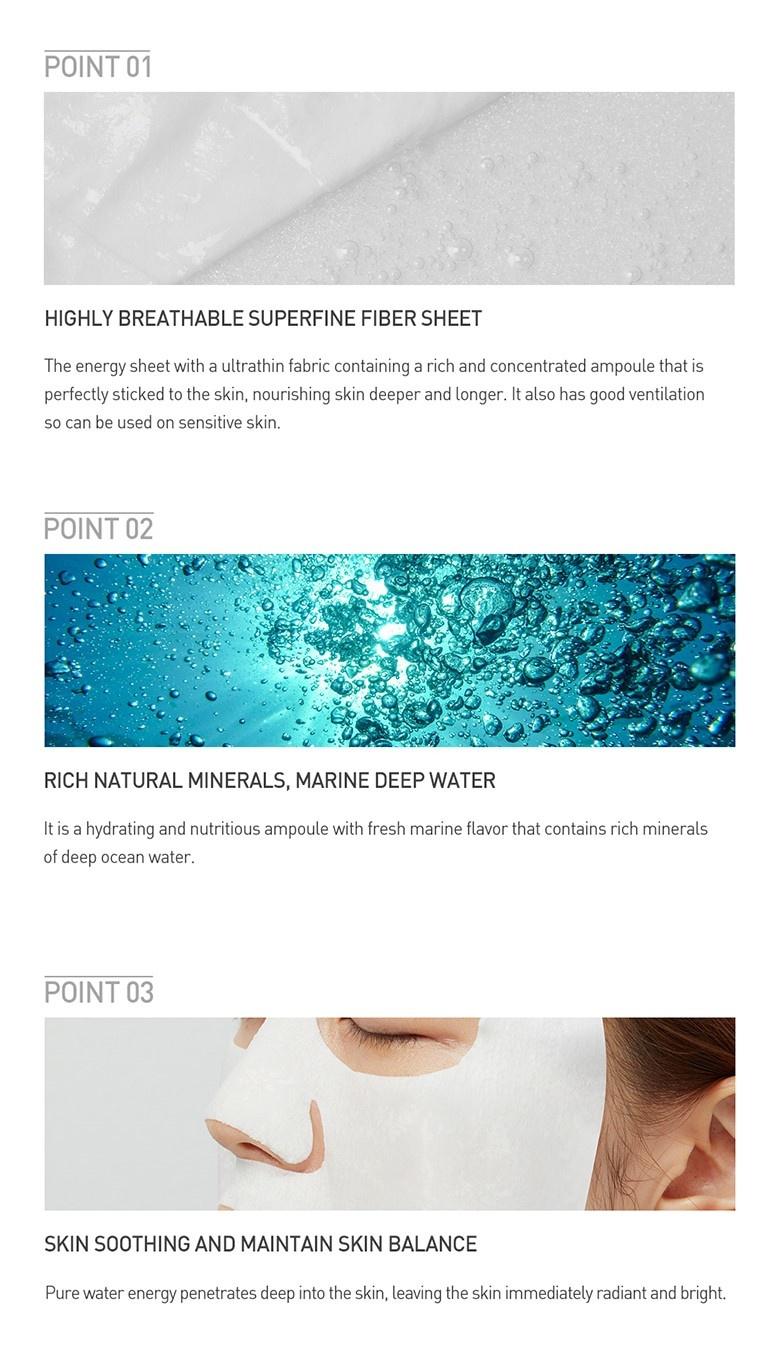 Pure Water Energy Mask (Seaweed)-5