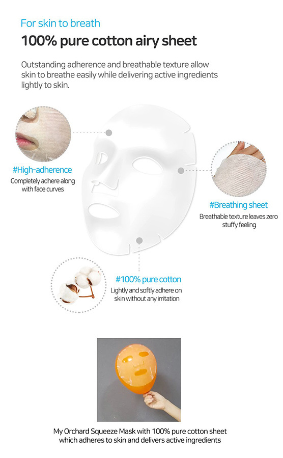 my orchard squeeze mask MANGO-4