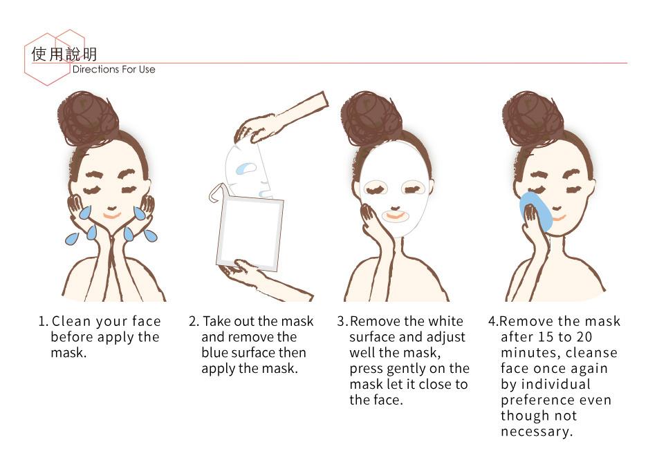 Honey Vitamin E Restoring Mask (8 pcs)-3