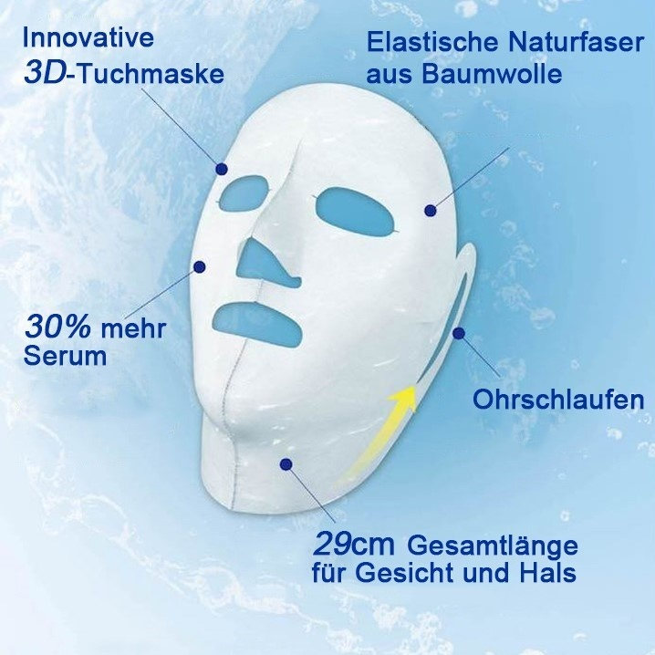 Nonapeptide Pre-makeup Moisturizing Mask (7+7 Pcs)-3