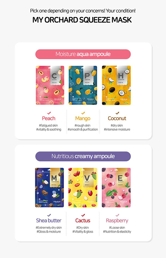 my orchard squeeze mask Probierset (6 Stk)-8