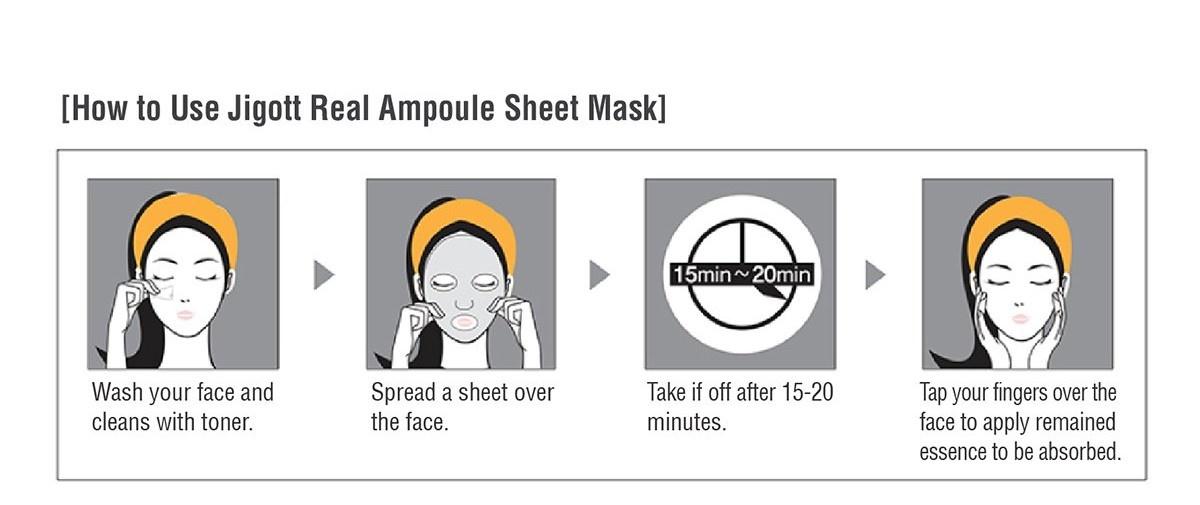 Real Ampoule Mask Probierset (2 Stk)-4