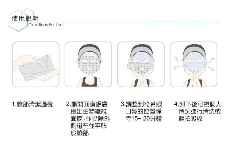 Six Essence Bio-Cellulose Mask Trial Mix (2 pcs)-6