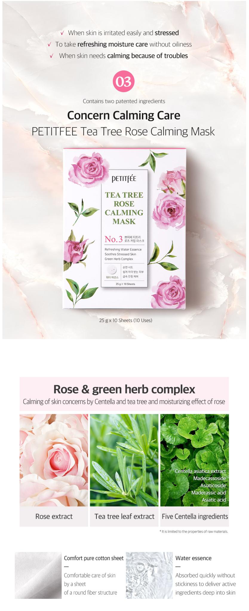 Tee Tree Rose Calming Mask-4