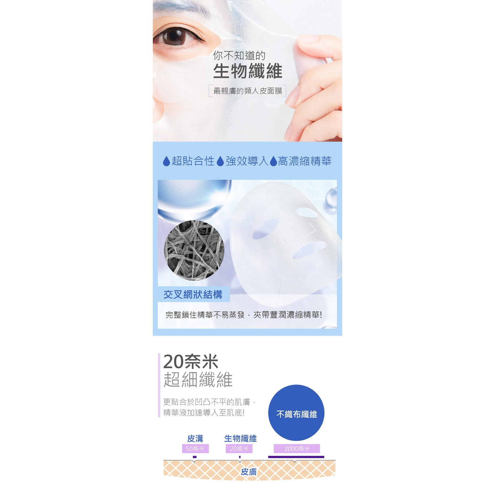 My Scheming Six Essence Bio-Cellulose Maske Probierset (2 Stk)