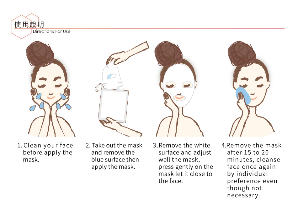 Aloe Soothing Hydrogel Mask (1+1 pcs)-5