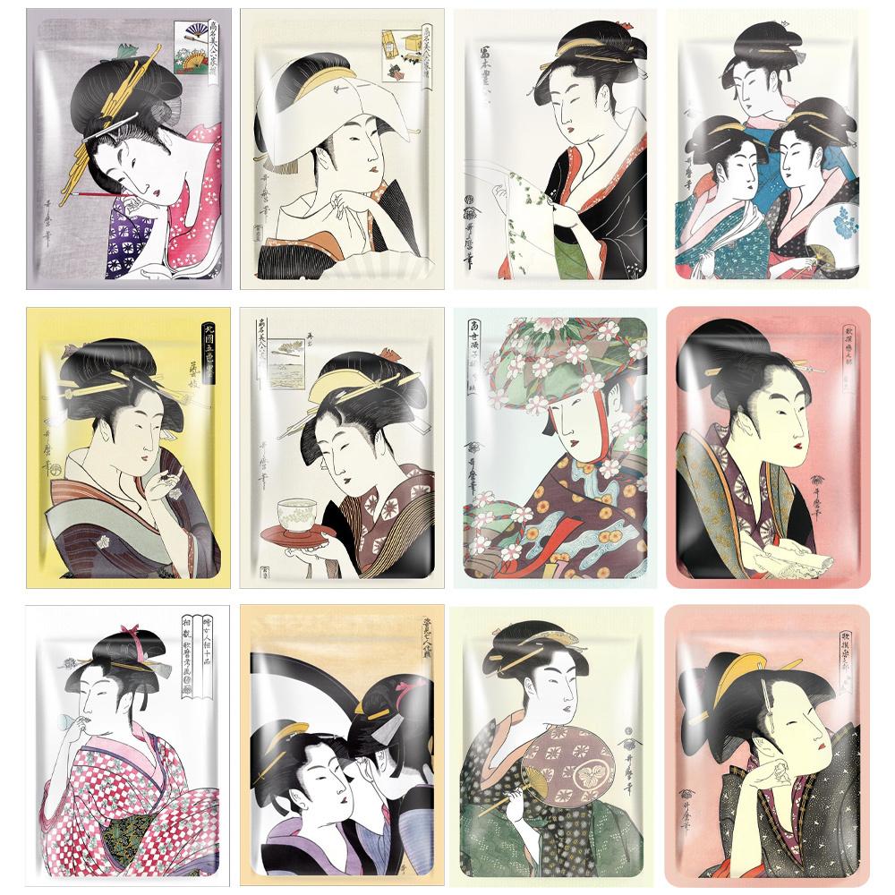 UKYIO-E Japanese Sheet Mask Trial Mix (12 pcs)-1