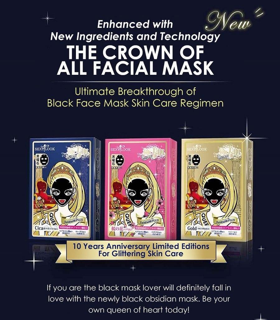 Extreme Whitening Black Mask-6