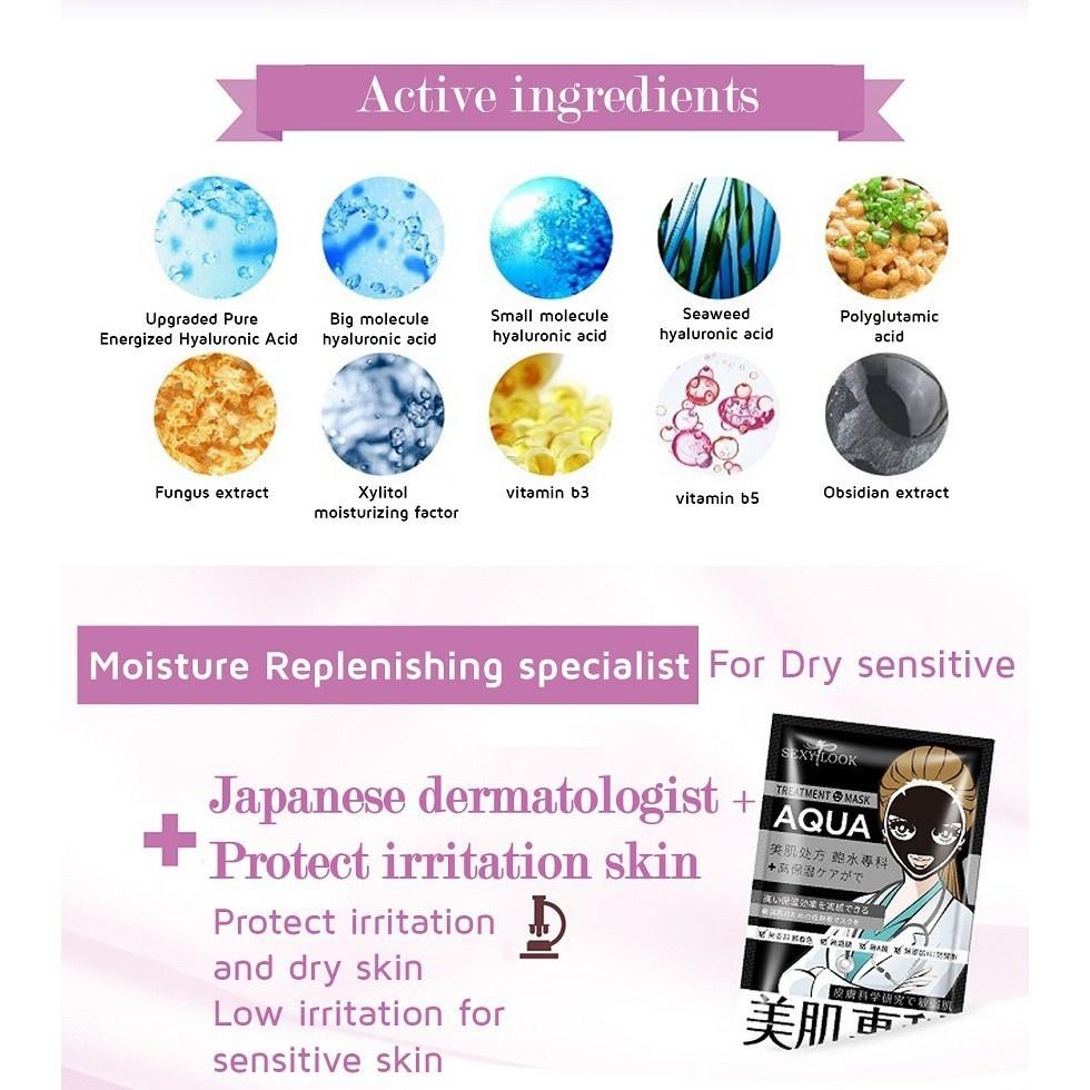 Medibeauty Moisture Replenishing Black Mask-6