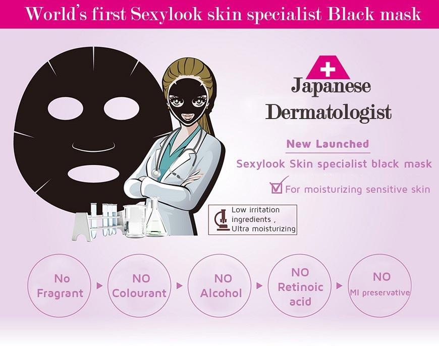 Medibeauty Whitening Black Mask-3