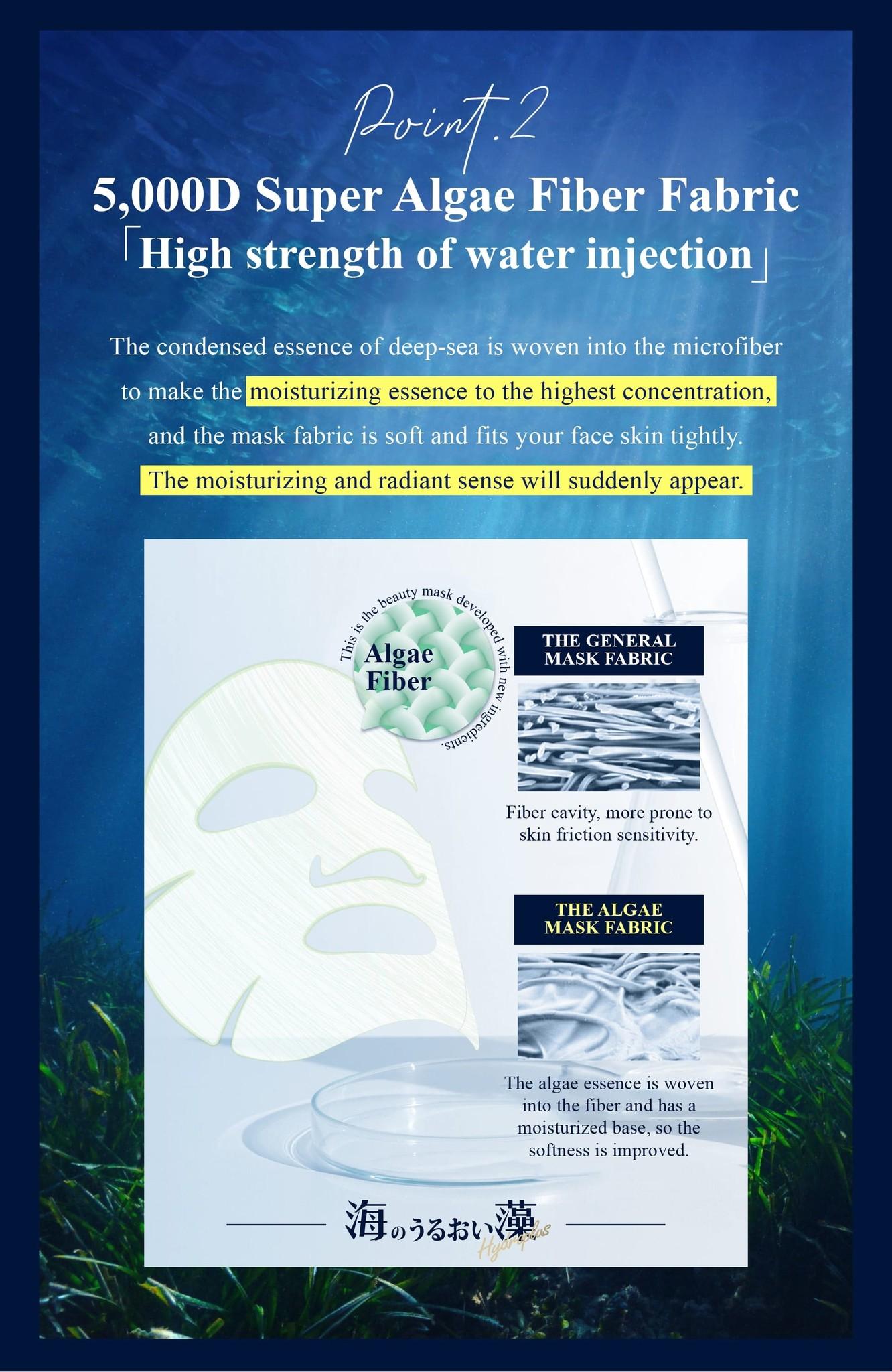 Algae Hydroplus Moisturizing Mask-6