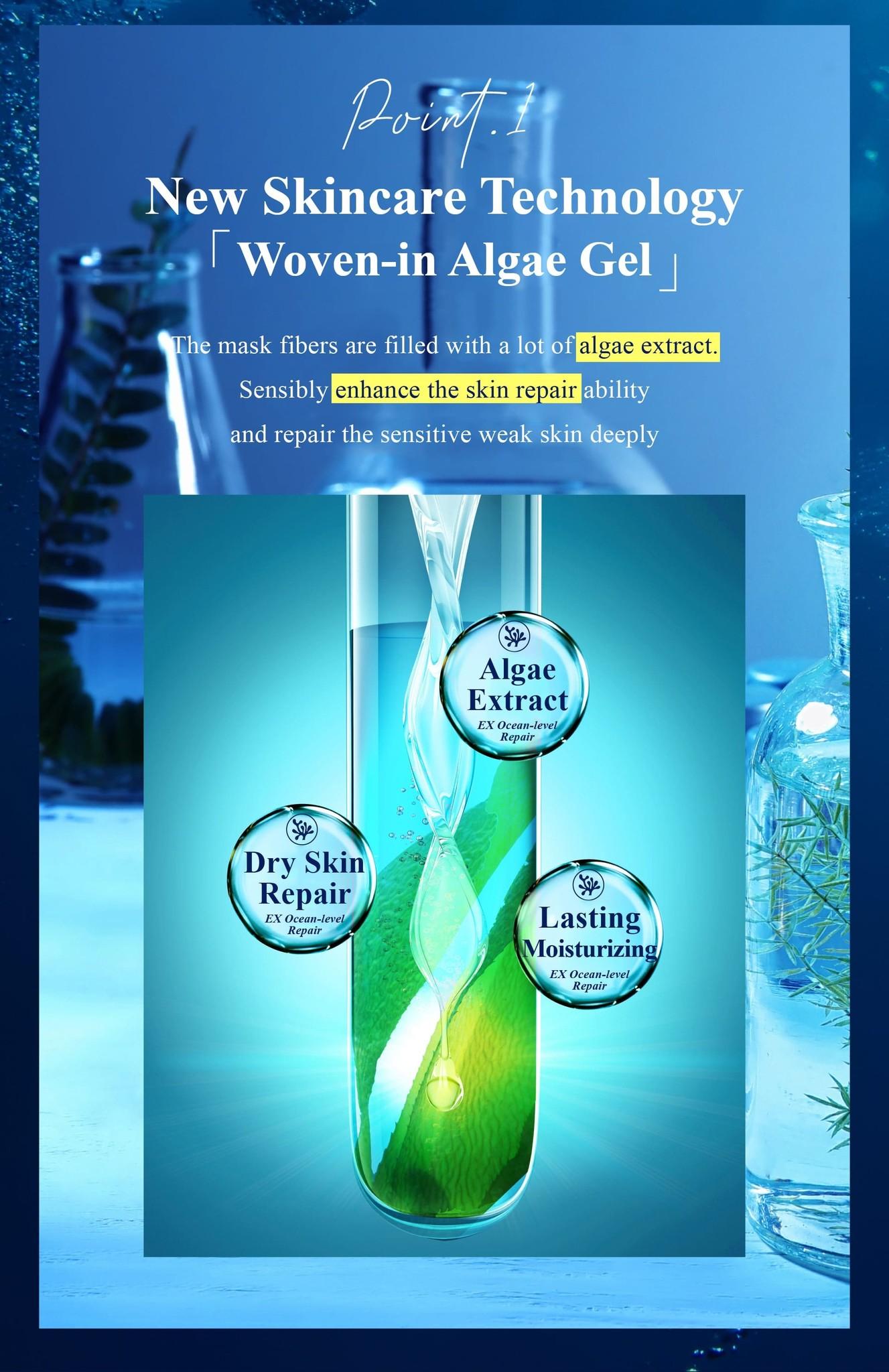 Algae Hydroplus Whitening Mask-5
