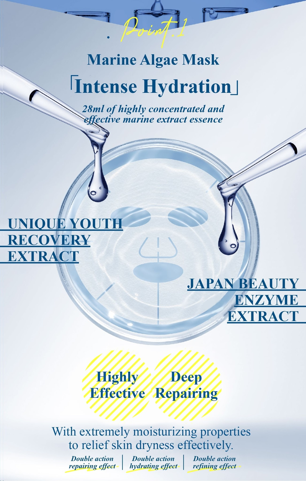 Hydroplus Rejuvenating & Moisturizing Mask-6
