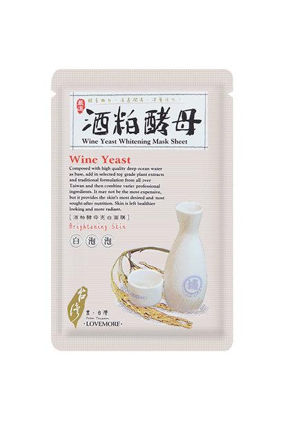 Wine Yeast Whitening Mask Sheet