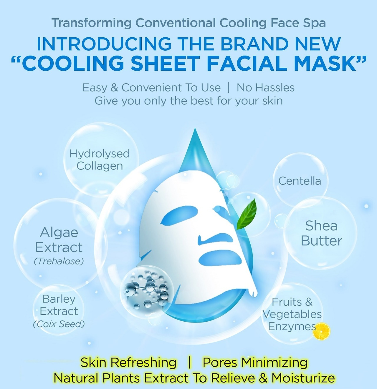 Pure Cool Jelly Mask Trial Mix (3 pcs)-7