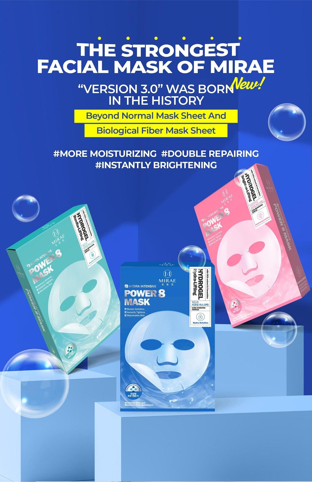 Power 8 Hydrogel Mask Trial Mix (3 pcs)-3