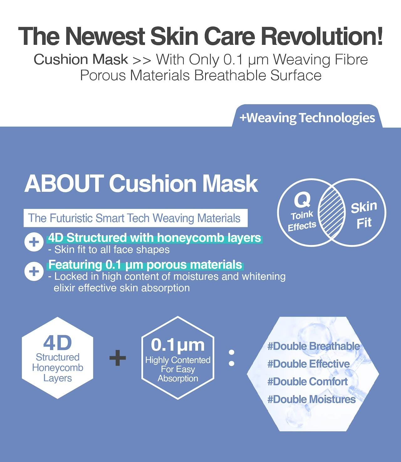 8 Minutes Cushion Mask Trial Mix (3 pcs)-4
