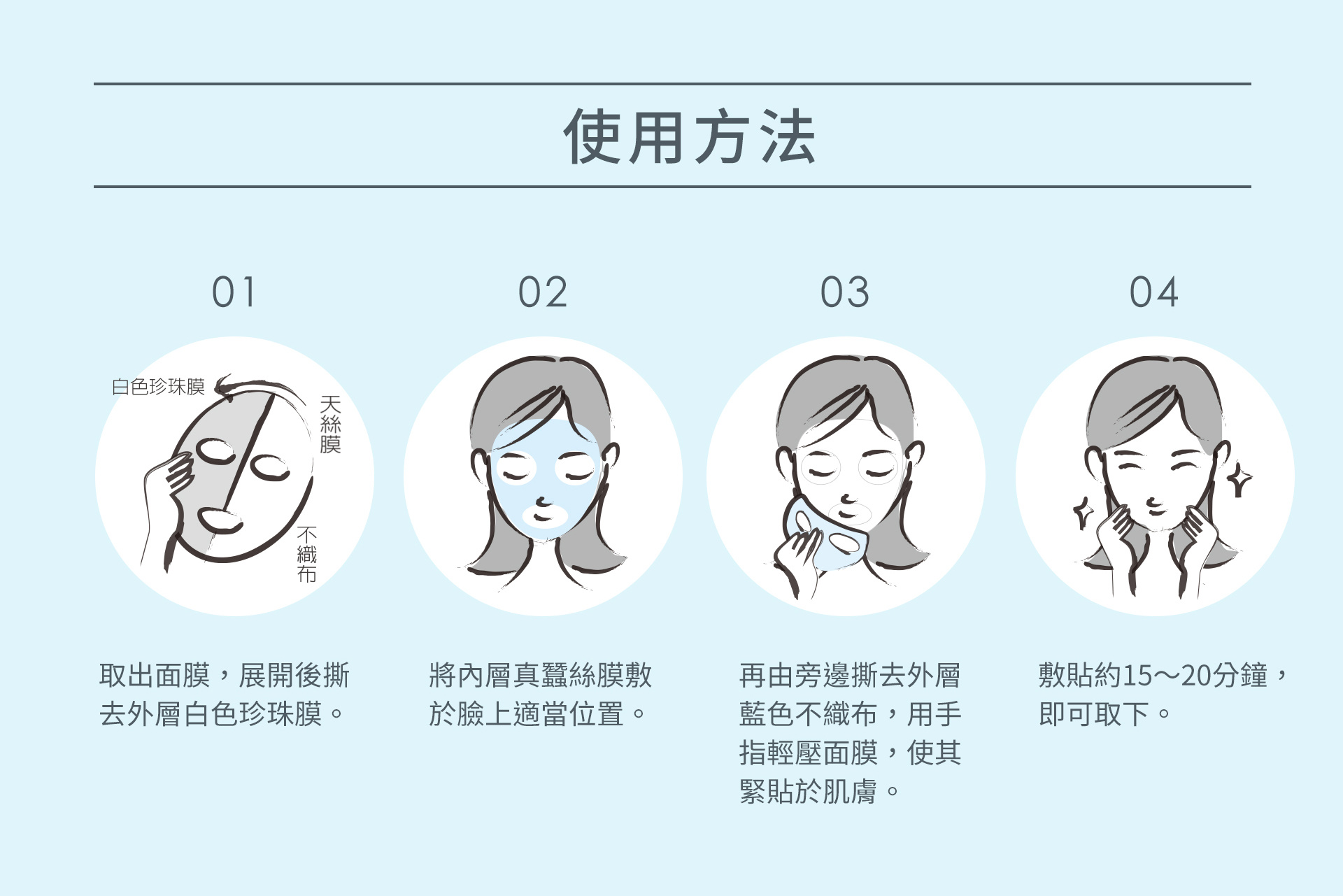 From Taiwan Sheet Mask Trial Mix (5 pcs)-9