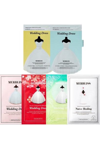 Wedding Dress Mask Trial Mix (6 pcs)
