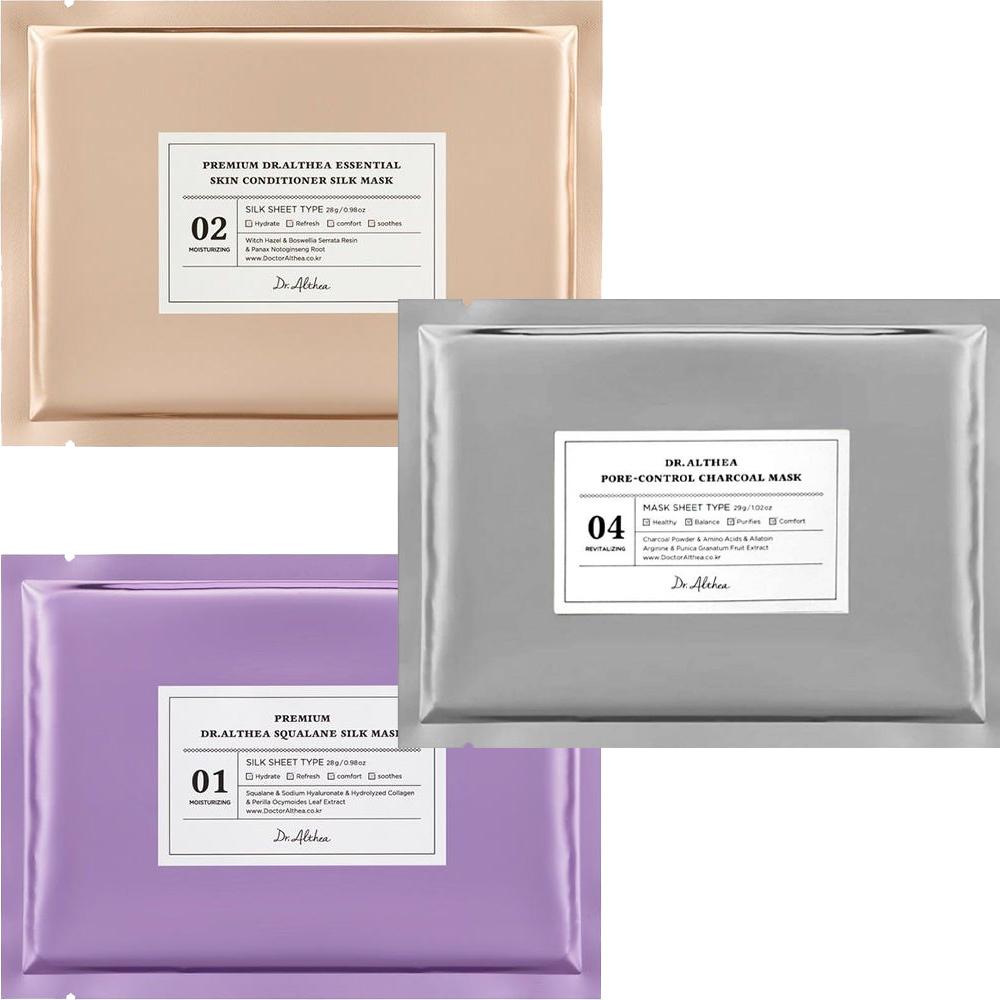 Premium Silk Tuchmasken Probierset (3 Stk)-1