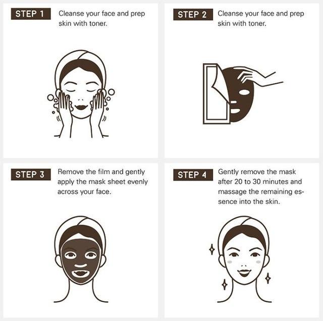 Charcoal Ampoule Sheet Mask Trial Mix (2 pcs)-6