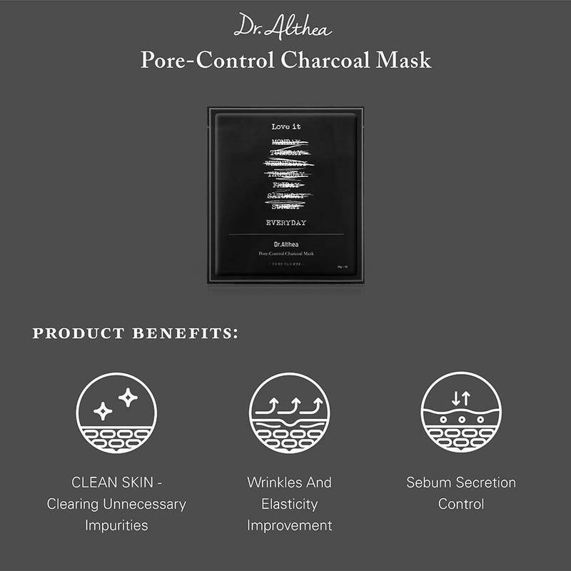 Charcoal Ampoule Sheet Mask Trial Mix (2 pcs)-2