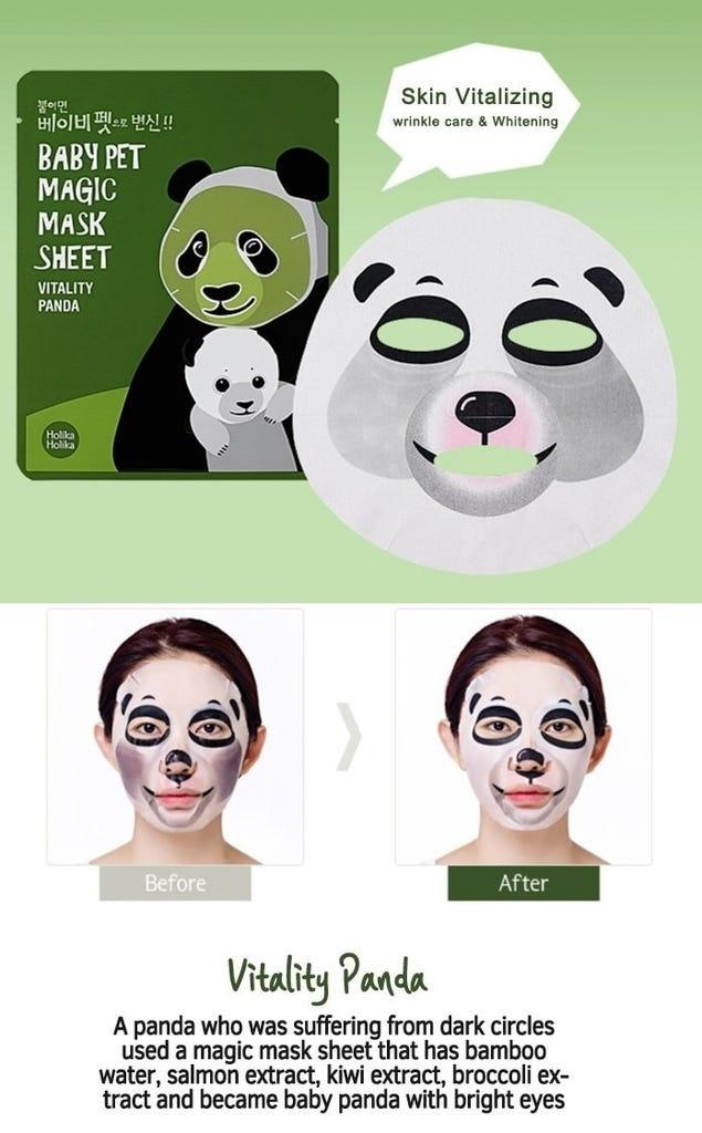 Baby Pet Magic Mask Sheet Trial Mix (3 pcs)-5
