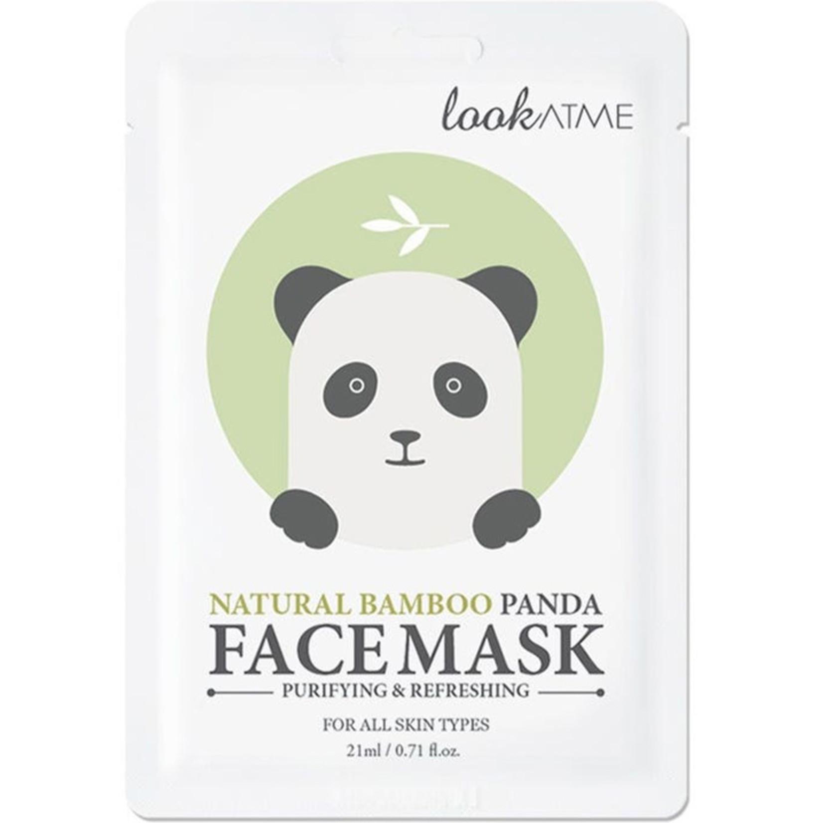 lookATME Natural Bamboo Panda Face Mask