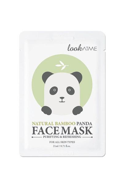Natural Bamboo Panda Face Mask