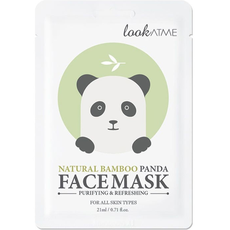 Natural Bamboo Panda Face Mask-1