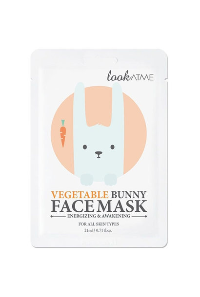 Vegetable Bunny Face Mask