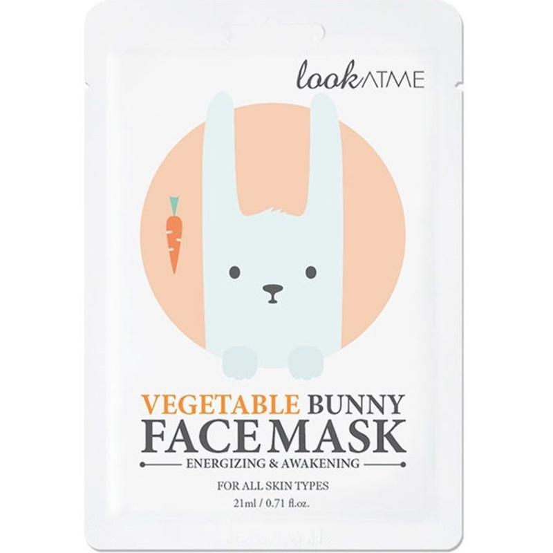 Vegetable Bunny Face Mask-1