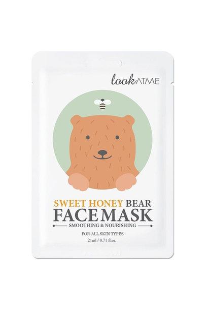 Sweet Honey Bear Face Mask