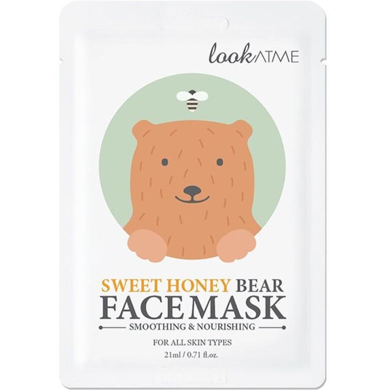Sweet Honey Bear Face Mask-1