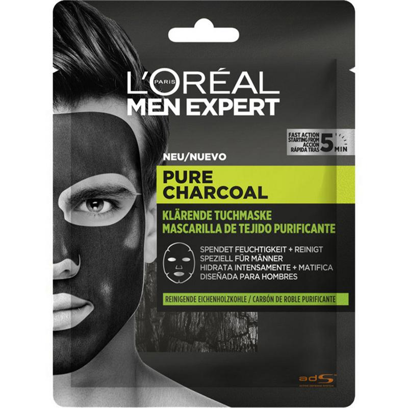 Pure Charcoal Tuchmaske-1