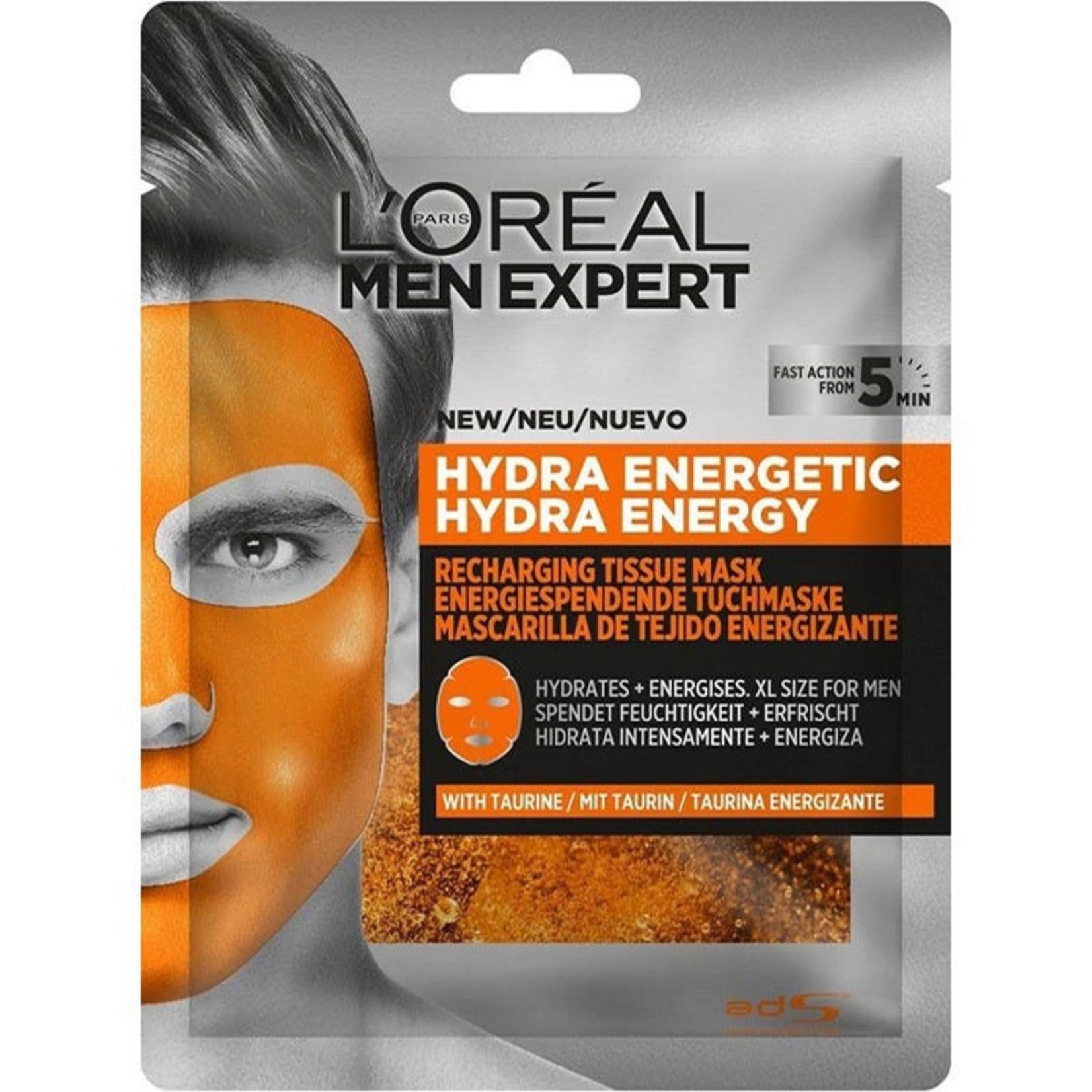 L'Oréal Men Expert Hydra Energy Taurin Tuchmaske
