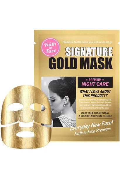 Signature Gold Mask