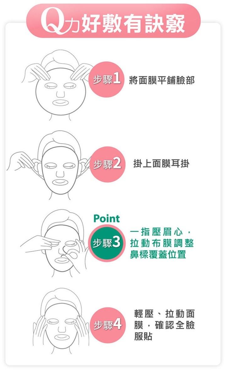 Chondrus Crispus Collagen Moisturizing Mask (5 pcs)-5