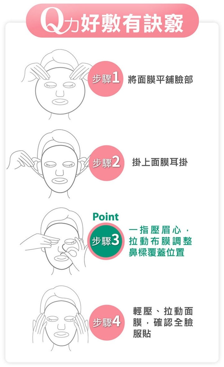 Dunaliella Bright-white energy mask (5 pcs)-5