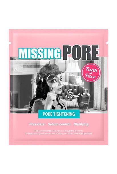 Missing Pore Hydrogel Mask