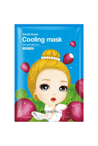 Orchid Flower Cooling Mask