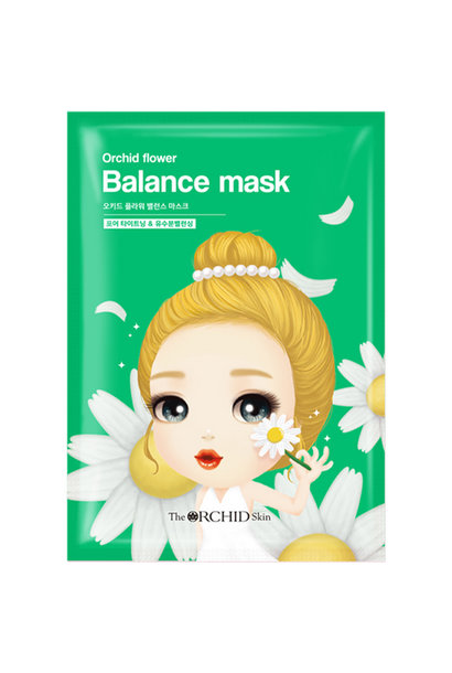 Orchid Flower Balancing Mask