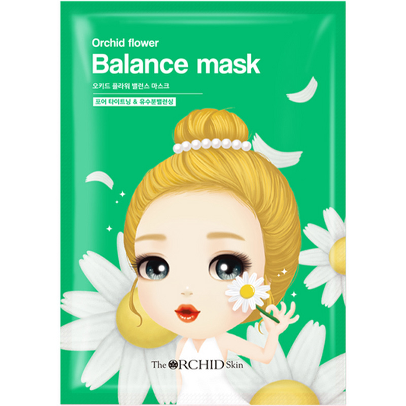 Orchid Flower Balancing Mask-1