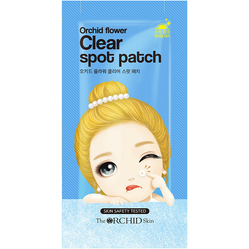 Orchid Flower Clear Spot Patch-1