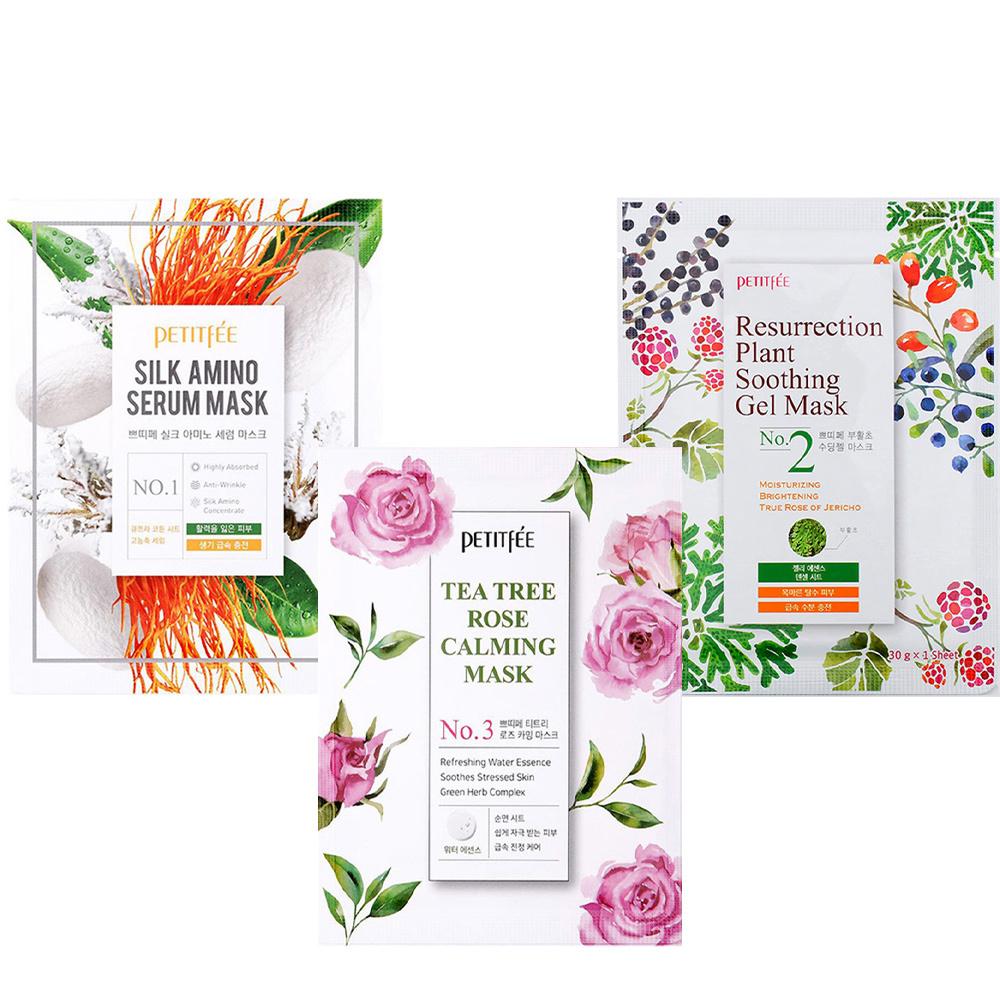 Plant Energy Mask Series Trial Mix (3 pcs)-1