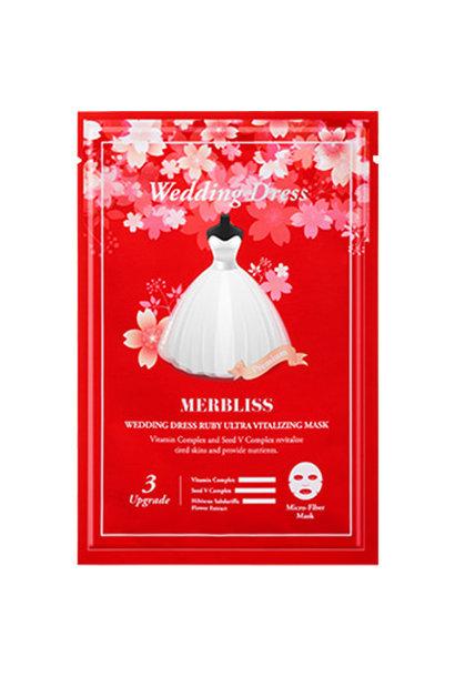 Wedding Dress Ruby Ultra Vitalizing Micro-Fiber Mask