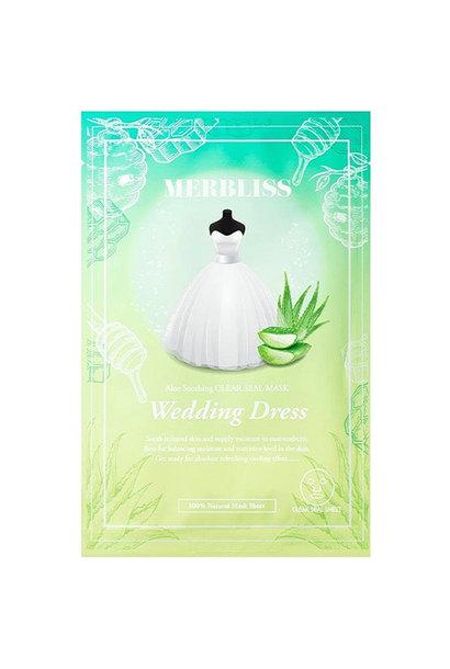 Wedding Dress Aloe Honey Soothing Clear Seal Mask