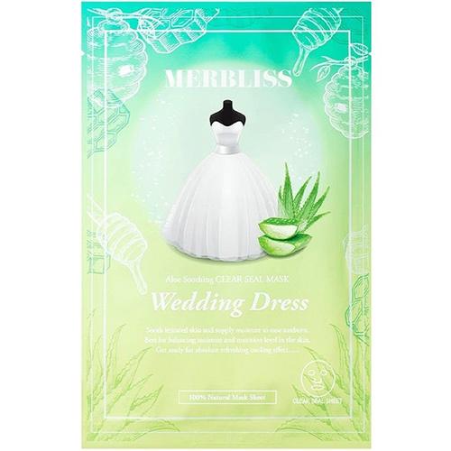 Wedding Dress Aloe Honey Soothing Clear Seal Mask-1